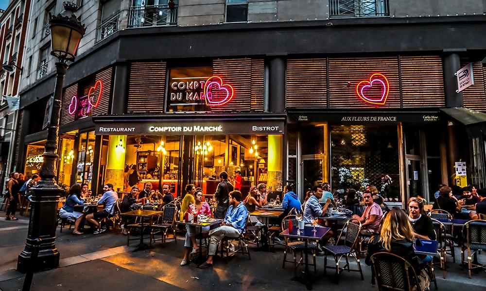 Terrasse bistrot Paris